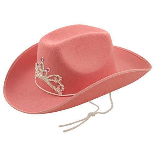 Zubehör Outfit Kostüm Cowgirl Hut Krone ()