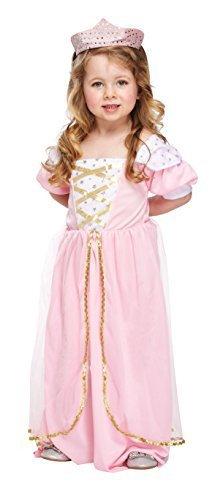 Rosa Mädchen Prinzessin Kostüm Age (Günstige Rapunzel Kostüm)