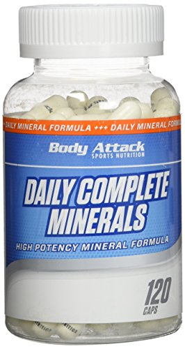 Body Attack Daily Complete Minerals, 1er Pack (1 x 120 Kapseln)
