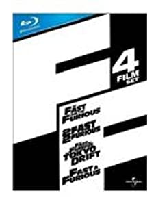 Fast & Furious 1-4 Box Set [Blu-ray] [Region Free] (B002AS9OSY) | Amazon price tracker / tracking, Amazon price history charts, Amazon price watches, Amazon price drop alerts