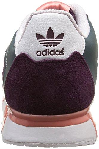 adidas Zx 850, Sneakers Basses fille Violet - Violett (Merlot F15-St /Peach Pink F15-St/Ftwr White)