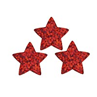 Trend Red Stars Sparkle Stickers