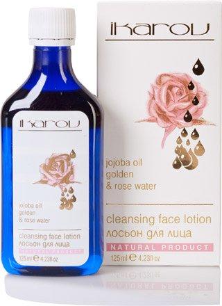 CLEANSING LOTION FACE - Jojobaöl Gold-und Rosenwasser