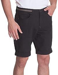 Gomati Herren Chino Shorts mit Aufschlag