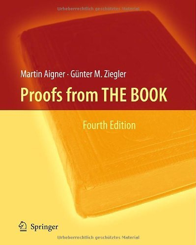 Proofs from THE BOOK by Aigner, Martin, Ziegler, Gnter M. (2009) Hardcover