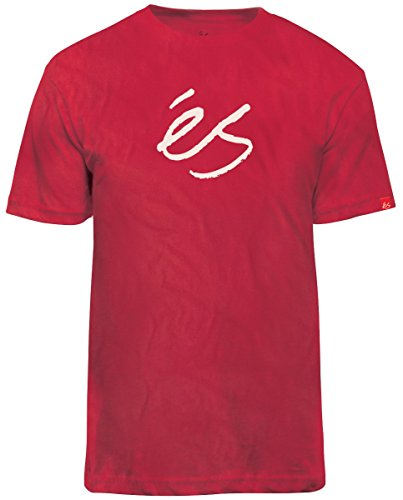 Herren T-Shirt Es Mid Script Tech T-Shirt Rot