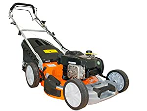 """Tiger TM5120SP 51cm (20"""") Self Propelled Petrol Lawn Mower, Briggs & Stratton engine, 2 yr Warranty, Free Delivery, 65L Grass Bag, 4 in 1 Collection System."""