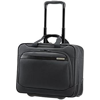 """Samsonite Vectura Office Case/Wh 15.6"""" Mallette ordinateur à roulettes, 39 cm, 22 L, Noir (Noir)"""