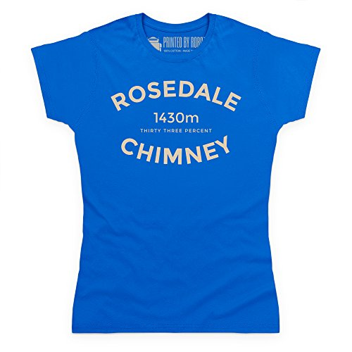 Cycling - Rosedale Chimney T-Shirt, Damen Royalblau
