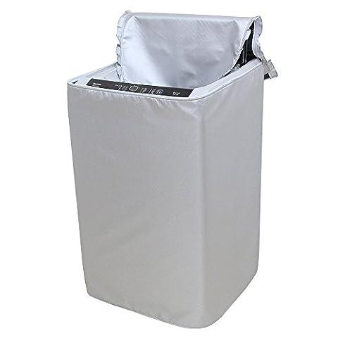 Lave-linge Argent - [Mr. vous] machine à laver Capot étanche