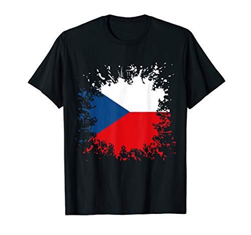 Tschechien Flagge Tschechisches T-Shirt Fan Shirt