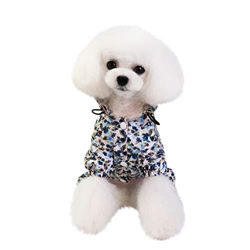 Sanahy Hundekleidung,Hundemantel Hundejacke Hundepullover Warm Winter Weste Mantel Hund Kostüme Haustier Kleidung -