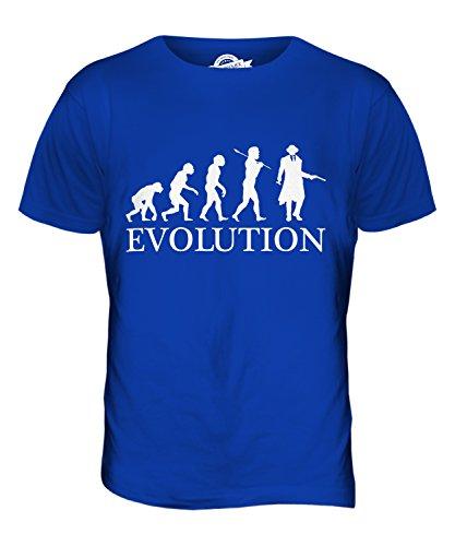 CandyMix Mafia Evolution Des Menschen Herren T Shirt Königsblau