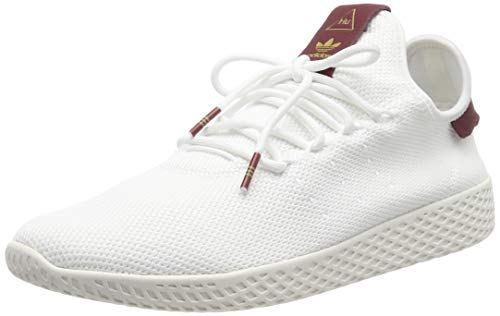 Adidas PW Tennis Hu W, Zapatillas de Deporte para Mujer, Blanco  Ftwbla/Buruni 000, 38 2/3 EU