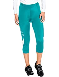 VAUDE Women's Advanced 3/4 Pants II - Pantalón corto color reef, talla 42