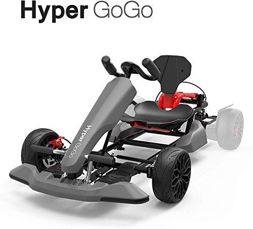 HYPER GOGO HoverKart, Hoverboard Kart Aufsatz, GoKart Sitz Umbausatz für alle Hoverboards
