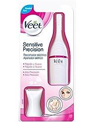 Veet Sensitive Precision - Recortador de pelo eléctrico, 7 accesorios, color blanco