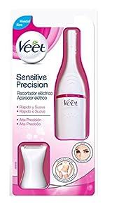 cortes de pelo mujer: Veet Sensitive Precision - Recortador Eléctrico Depilación Mujer Zonas Sensibles...