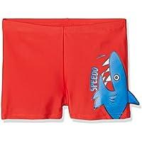 Speedo 8-11336C315 Bañador, Niños, Rojo (Risk Red/Neon Blue), 2 años