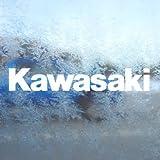 Aufkleber / Autoaufkleber / Sticker / Decal KAWASAKI White Decal Ninja 600 200 750 Cbr Window White Sticker