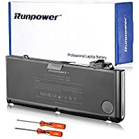 Runpower Replacement Battery for Apple 13 inch MacBook Pro A1278(Mid 2009, Mid 2010, Early 2011, Late 2011, Mid 2012) A1322 Laptop Battery[Li-Polymer 10.95V 6000mAh]