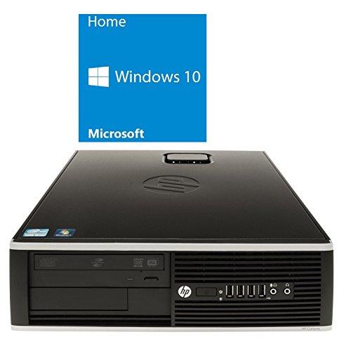 Refurbished Office PC | HP Elite 8200 SFF | Intel Core i3-2100 @ 3,1 GHz | 4GB DDR3 RAM | 500GB HDD | DVD-ROM | Windows 10 Home (Generalüberholt) (Cpu-desktop-refurbished)