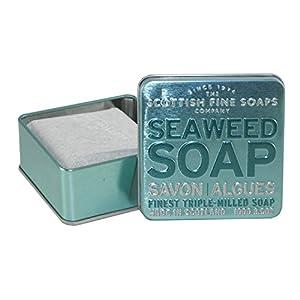 Scottish Fine Soaps Serie Aromas Escoceses – Jabón en lata 100 g – Aroma Brezo