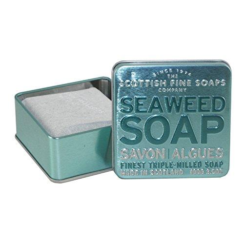 Scottish Fine Soaps - A01162 - Savon Algues - Boîte Métallique - 100g
