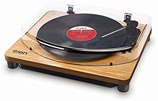 ION Audio Classic LP | 3-Speed Belt-Drive Turntable with USB Digital Conversion - Wood