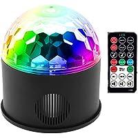 LAMPARA ALTAVOZ BLUETOOTH LINTERNA LED CAMPING CARGADOR USB LUZ BOLA DISCOTECA