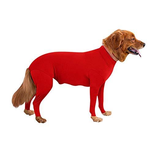 Nyutop Langärmliger Body-Overall für Hunde, E-Kragen-Alternative zur Regeneration -