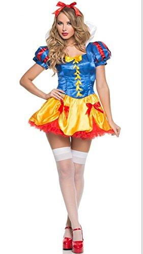 Gorgeous Snow White Cosplay Halloween-Kostüme Kleidung (Kostüme Snow White)