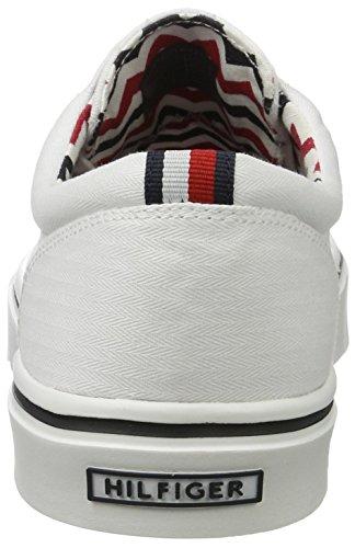 Tommy Hilfiger Herren De Sm M2285alcolm 5d2 Sneakers Weiß (White 100)
