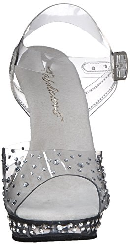 FABULICIOUS , sandales femme - Clear/Clear