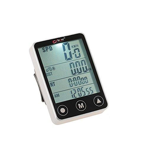 docooler Multifunktional Fahrradcomputer kabellos LCD Touch Taste