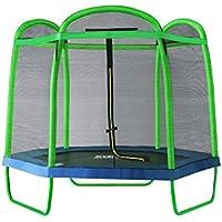 Preisvergleich für SixBros. SixJump 2,10 M Gartentrampolin Trampolin mit Sicherheitsnetz
