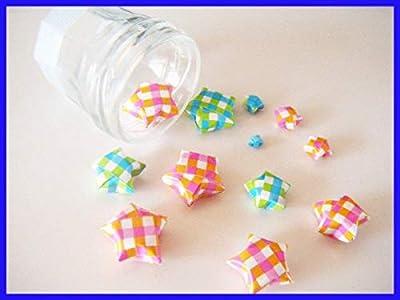 12 étoiles en origami pour vos créations ou décoration
