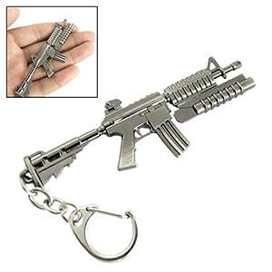 Gleader Portachiavi con ciondolo lanciagranate M4 Carbine in metallo