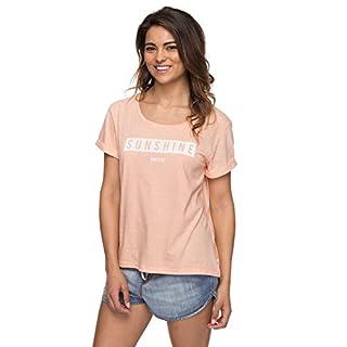 Roxy Wild Alcyons D - T-Shirt for Women - T-Shirt - Frauen - M - Rosa