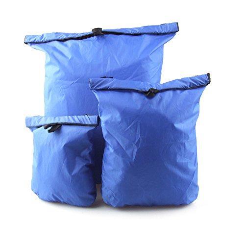 HSL 1 satz 3 ultra light wasserdichte Taschen, die lagerung gepack reisen, kajak, blau