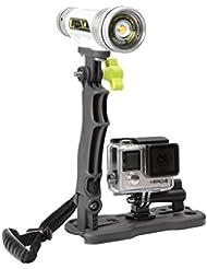 Underwater Kinetics Aqualite Travel Grip Kamera Griff, Schwarz, M