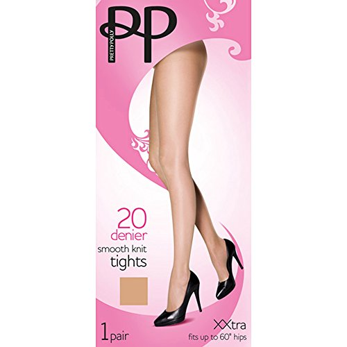 ladies-pretty-polly-20-denier-smooth-knit-everyday-tights-xl-48-54-hip-bamboo