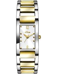 s.Oliver Damen-Armbanduhr XS Analog Quarz Edelstahl SO-2804-MQ
