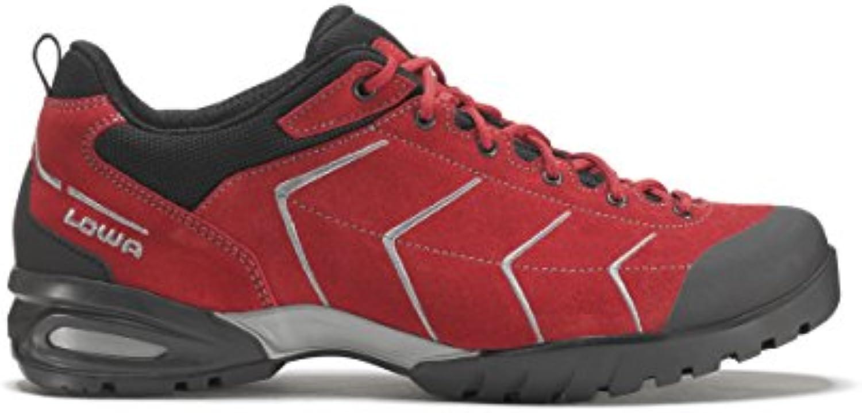 Lowa Palma Zapatos de trekking para hombre (Rojo/Gris) rojo y gris Talla:10.5
