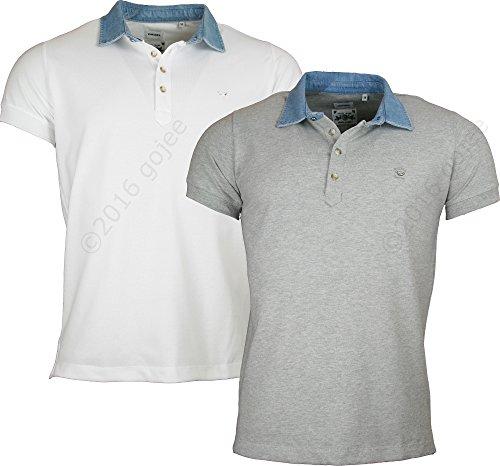 Diesel Herren Poloshirt 100 White