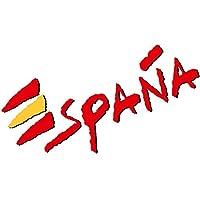 Artimagen Pegatina Texto España 110x40 mm.