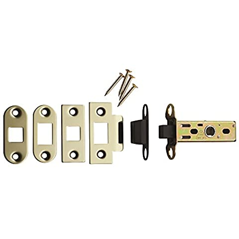 Carlisle Brass - TLM5030/57/BSS - Magnetic Tubular Latch 57mm Backset - Finish - Bright Stainless Steel