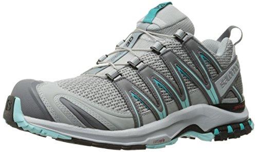 Salomon  XA PRO 3D, Chaussures de Trail femme Quarry/Pearl Blue/Ablu
