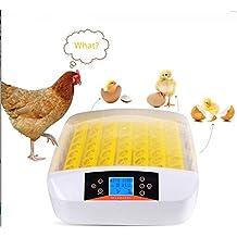 Befied Hatcher Eclosión Digital Incubadora del Huevo de Pato Pollo Automático Inteligente con Control de Temperatura 56 huevos