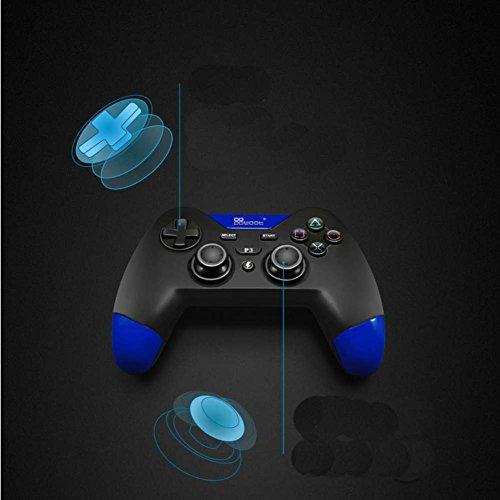 Balai Bluetooth Wireless Controller Gamepad für PS3 PC - Ps3 Controller Blau Wireless